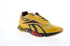 Reebok Futsal Fusion FV9289 Mens Yellow Low Top Athletic Running Shoes 10