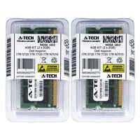 4GB KIT 2 x 2GB Dell Inspiron 17R 5720 17R 7720 17R N7010 M101z Ram Memory