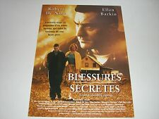 AFFICHE PROMO VIDEO CLUB--BLESSURES SECRETES--DE NIRO/BARKIN/CATON JONES