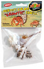 ZOO MED HERMIT CRAB GROWTH SHELL SMALL 3PK ASST COLORS  STYLES FREE SHIP IN USA