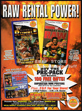 WWF Royal Rumble 1994__Monday Night Raw__Original 1994 Trade Print AD promo