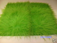 Grinch Costume Long Green Fur Fabric  2 Metres X 1.5M