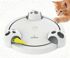 Frolicat Pounce Interactive Automated Variable Rotating Hide and Seek Cat Toy