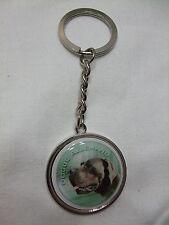 Porte-clés en métal - chien DOGUE ALLEMAND NOIR BIS