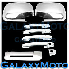 05-11 TOYOTA TACOMA Chrome plated Mirror+4 Door Handle w/KEYHOLE+Tailgate Cover
