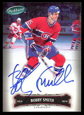 06 07 PARKHURST HOCKEY 118 BOBBY SMITH AUTO AUTOGRAPH SIGNED MONTREAL CANADIENS