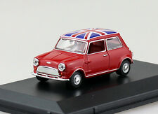 Austin Mini Tartan red Union Jack 1:43 Oxford Modellauto MIN023