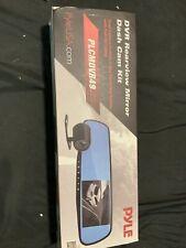 Dash Cam Mirror DVR Monitor Rear View Dual Camera Video Recording System Full HD