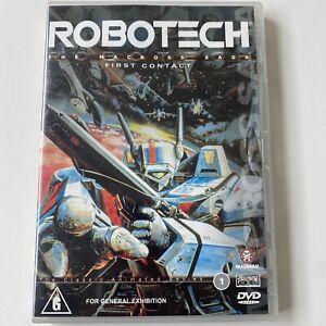 Robotech - The Macross Saga - First Contact - Volume 1 (DVD) Australia Region 4