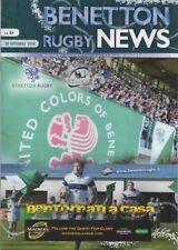 2010-BENETTON TREVISO V Connacht - 30/10/10 - Magners Celtic LEAGUE programma
