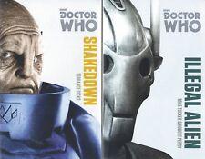 Lot 2 Doctor Who Books! Illegal Alien Mike Tucker & Shakedown by Terrance Dicks