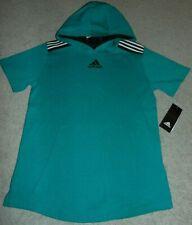~NWT Boys ADIDAS Short Sleeve Hoodie Shirt! Size M 10-12 Nice:)!