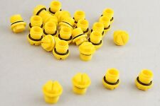 "(25) Pack Caplugs BL Series BL5K Yellow 9/16""-18 Threaded Plugs w/ Oring New"