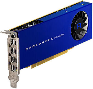 AMD RADEON PRO WX 4100 4 GB GDDR5 - 100-506008 - 4GB GDDR5 GPU, 128-bit, DirectG