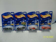 4  2002 First Editions Series Hot Wheels 42 Models #16  #17  #20  #21   (2)
