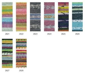 Lana Grossa 100 Meilenweit Summer Special 100g Sockenwolle 4-fach