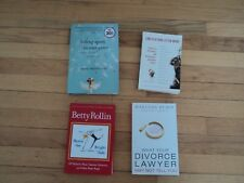 4 Divorce Books Love is a 4 Letter Word Optimists View Here's Bright Side