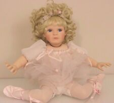 Adorable Ashton Drake Galleries Chloe Porcelain Ballet Doll Le #1413A Retired