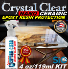 """EPOXY RESIN PROTECTION CERAMIC CLEAR COAT SPRAY """"CRYSTAL CLEAR COATING"""" GLOSS"""