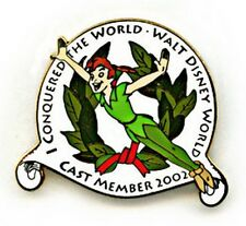 Disney WDW - I Conquered The World Cast Member Exclusive Peter Pan pin/pins