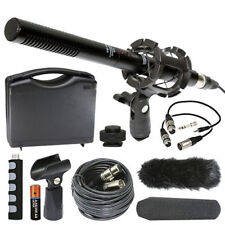 Canon EOS C300 Mark II Camcorder External Microphone Vidpro XM-55 13-Piece Kit