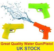 New Childrens Water Gun Pistol Play Fight Summer Kids Fun Garden Beach 15cm UK