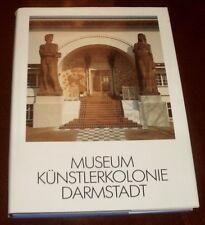 ' MUSEUM KUNSTLERKOLONIE DARMSTADT ' Illustrated Fully : 1990 : catalogue.