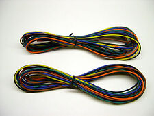 Assorted 3' Sections of 22 Gauge Stranded Hook-Up Wire for American Flyer Trains