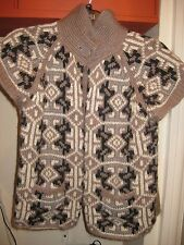 Ladies Next sleeveless wool blend cardigan Size 10 GC