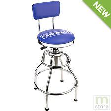 Kobalt Adjustable Hydraulic Stool Mechanic Seat Chair Work Shop Garage Bench
