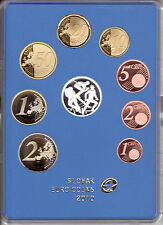 SLOWAKEI 2010 1 CT - 2 EURO KMS PP PROOF - OLYMPISCHE WINTERSPIELE IN VANCOUVER