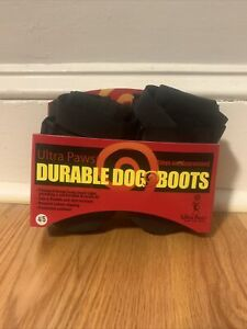 Ultra Paws Durable Dog Boots Size Small Washable Reusable Brand New