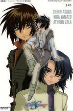 big plastic card Gundam Seed Destiny anime Kira Yamato Athrun Zala Shinn Asuka
