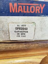 Mallory Capacitor Model Opr3540