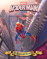 Marvel Spider-Man Magical Story (Magical Story Lenticular Cover), Marvel, Very G