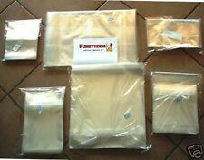 BUSTE PROTETTIVE PER FUMETTI FORMATO MANGA PACCO 100 PZ 12,5 X 17,8 CM.