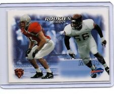 Brian Urlacher Corey Moore Rookies Pair Card  Fleer  NEXT DAY SHIP AFTER PAYMENT