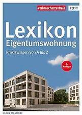 Lexikon Eigentumswohnung - Claus Mundorf - 9783863366490 PORTOFREI