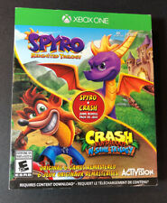 Spyro Reignited Trilogy + Crash Bandicoot N Sane trilogy 2-Game (XBOX ONE) NEW