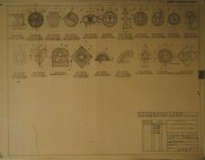 More details for 2900+ ww1/ww2 us plans schematic drawings of webbing, equipment, tools, amazing