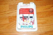 Philips Universal Gaming 8ft/2.4m. S-AV Cable for PS3, PS2, Xbox360, Elite, Wii