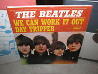 THE BEATLES 45 Picture Sleeve Only WE CAN WORK IT OUT Capitol 1965 Capitol 5555