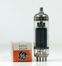 NOS New Old Stock General Electric 6GB5 EL500 Power Tube 8000 @ 65mA Holland