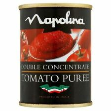 Napolina Tomato Puree Tin - 142g - Pack of 4