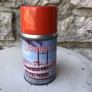 1957 Vintage DISNEYLAND Metal Disney Original Thermos by Aladdin