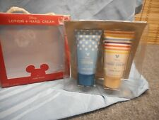 DISNEY MICKEY MOUSE LOTION & HAND CREAM GIFT SET JUNK FOOD 2 FL OZ EACH