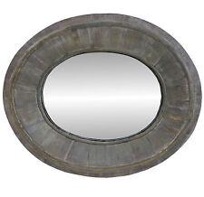 Miroir Trumeau Oeil de Boeuf Glace Reflet Ovale Style Ancien Mural ou Pose 55cm