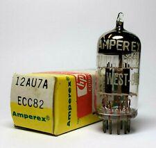 Amperex/Tungsram Made in West Germany 12AU7A ECC82 Valve/Tube NOS (V25)