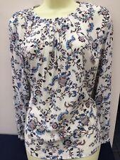 Esprit chemisier Bleu Blanc Multicolore Taille 12 superbe état