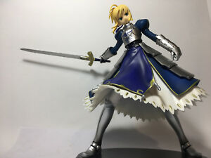 Rare : Fate/Staynight Saber figure girl action 1/7 scale with excalibur sword